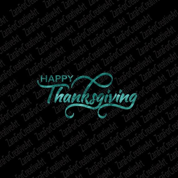 Happy Thanksgiving Svg Happy Turkey Day Svg Turkey Svg Etsy