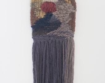 Wine Bubble | Tapestry Weaving | Woven Wall Hanging | Fiber Art
