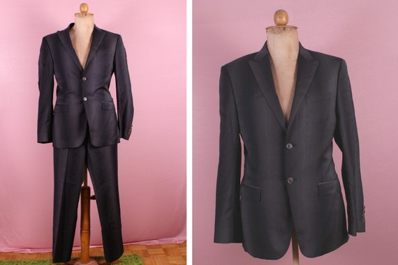 1990's Grey KENZO Suit - Size Medium