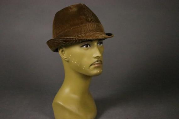 1970's Corduroy Boston Hat