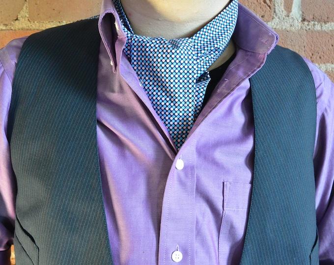 Tie like Cotton Italian print cravat