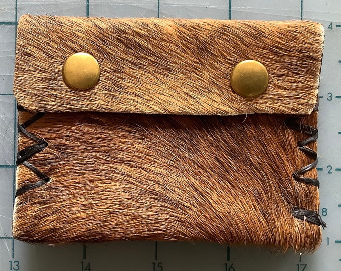 Small Furry Wallet