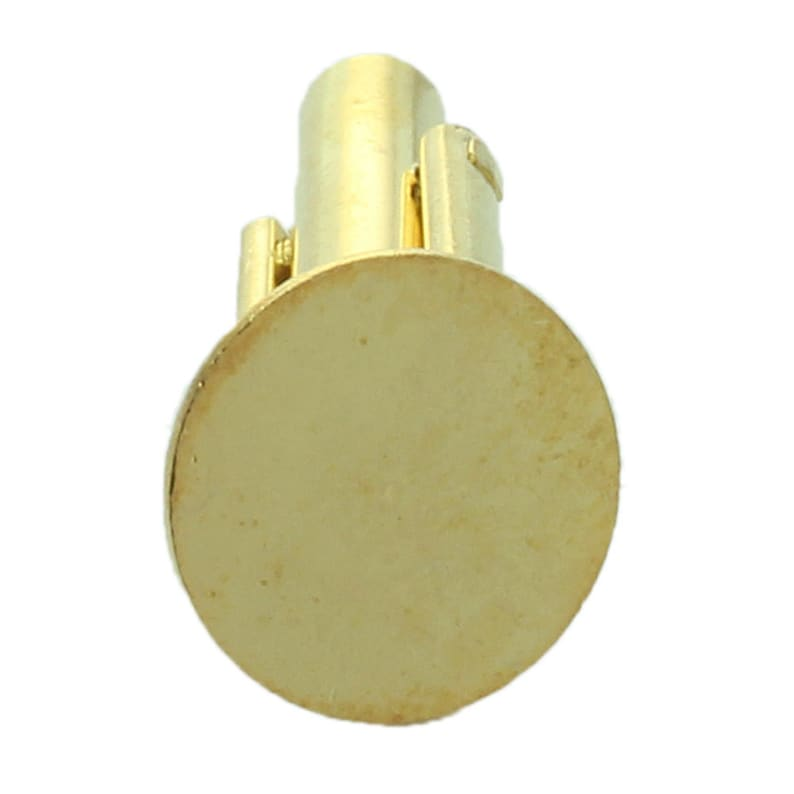 Available in Gold Plating or Nickle Plating set your own stone or cabochon Cuff Link blanks with an 11mm Pad