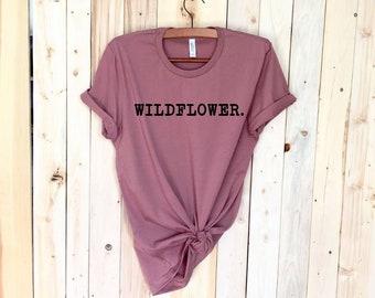 7d2f2f1d Wildflower Tee   Cute Graphic Tees   Womens Graphic Tee   Boho T-Shirt
