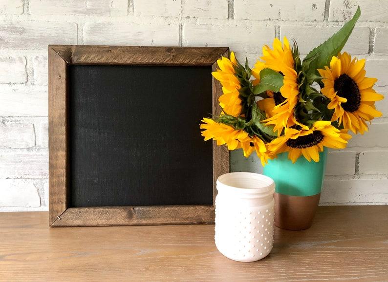 Rustic Chalkboard  Farmhouse Chalkboard  Reclaimed Wood image 0