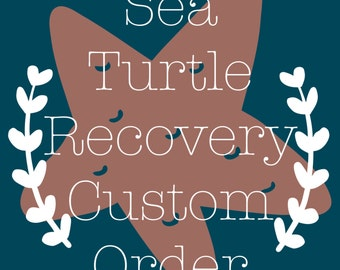 """Sea Turtle Recovery 3""""x4"""" Photo Magnets"""