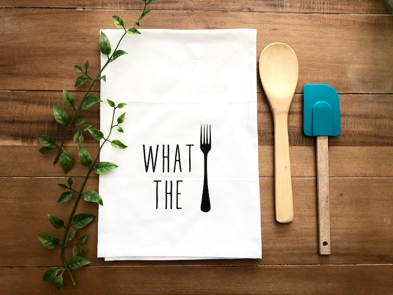 What the Fork Tea Towel Funny Kitchen Towels Farmhouse Tea   Etsy Ideas For Kitchen Dish Towels on professional kitchen towels, cotton kitchen towels, tea towels, elephant kitchen towels, kitchen towels in bulk, kitchen dish rags, kitchen towels 100% bamboo, decorative kitchen towels, kitchen millennium microfiber kitchen towels, designer kitchen towels, meijer kitchen towels, bath towels, crochet kitchen towels, country kitchen towels, hawaiian kitchen towels, linen kitchen towels, mu kitchen towels, kitchen dog towels, burlap kitchen towels, kitchen dress towel,