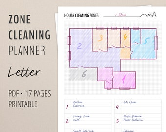 Zone Cleaning Schedule Home Management
