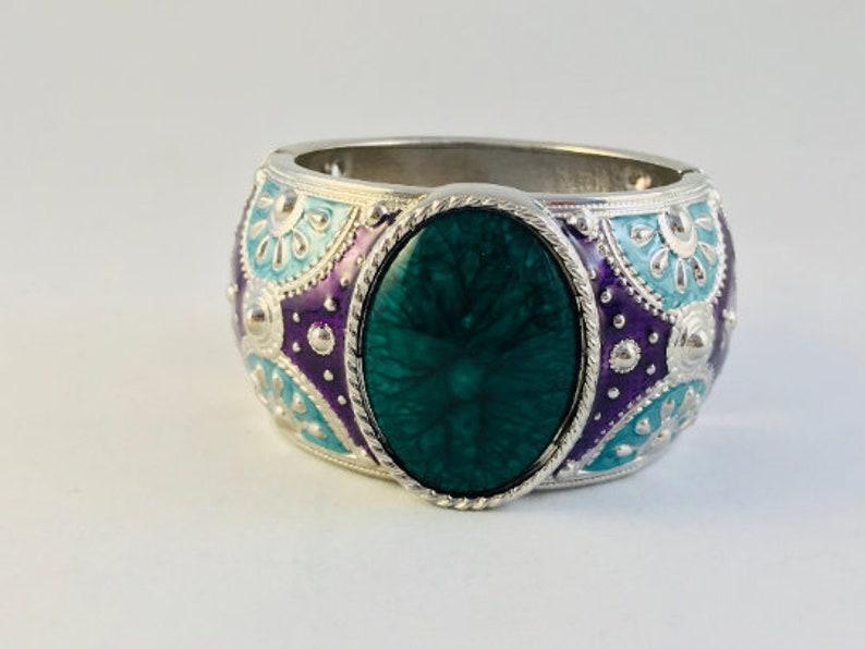 For Women Ideal for Christmas Gift Handmade Jewelry Andalucia Bangles Bracelet