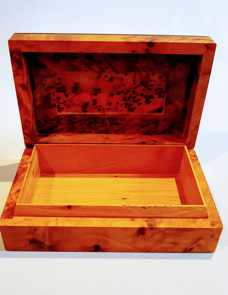 Jewelry Wood Box Aromatic Handmade Special and Unique for Christmas Gift