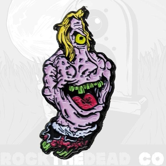 Beetlejuice Cartoon Enamel Horror Pin Etsy