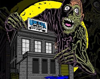 Tarman Return of the Living Dead Enamel Horror Pin