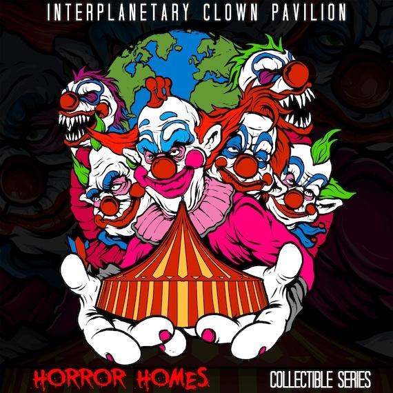 Killer Klowns From Outer Space Horror Enamel Pin