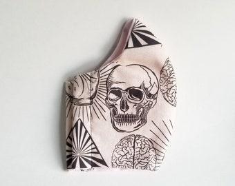 Skull and Brains Face Mask (Handmade)