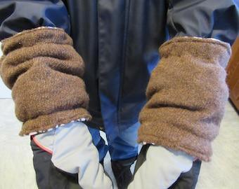 Men's Winter Wrist Wool Cuffs