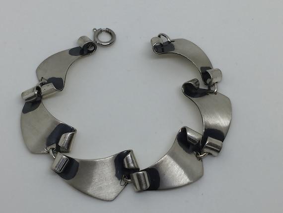 Mid Century Modern Felchcraft Sterling Bracelet