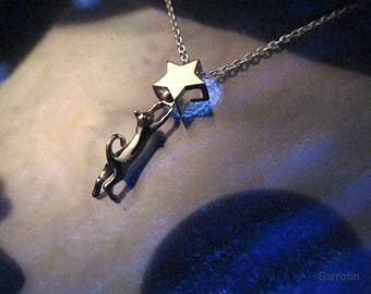 The cat pendant that caught the star