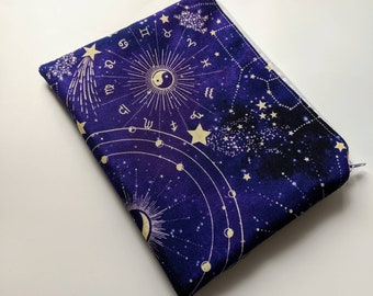 Zipper Pouch, Zodiac bag, Cosmetic Bag, Make up Bag, Coin Purse, Pencil Pouch, Travel Bag, Travel Gifts