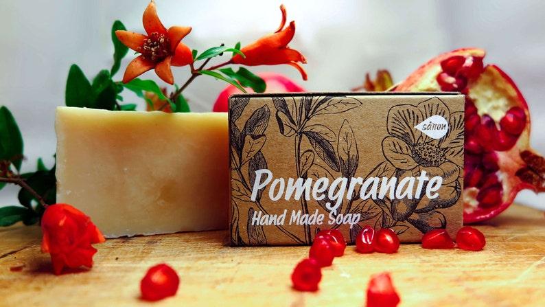 Pomegranate Soapall naural soapherbal soaporganic image 0