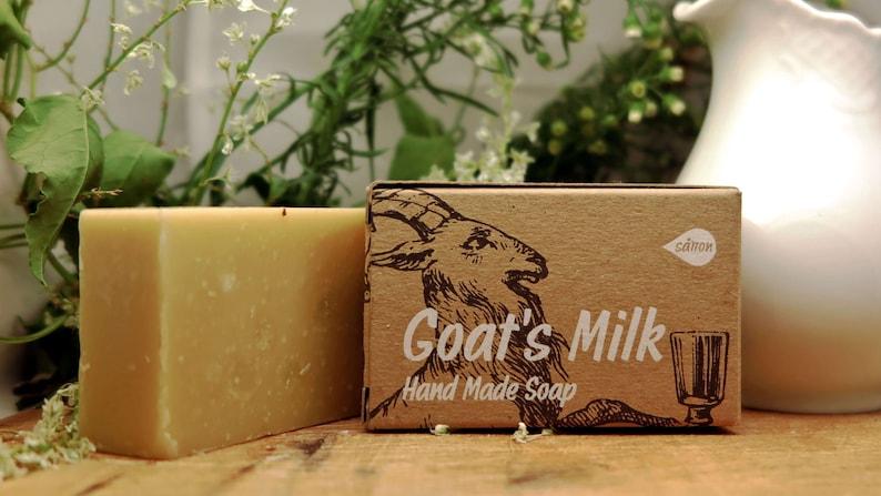 Goat's Milk Soapall natural soapmilk soapsensitive image 0