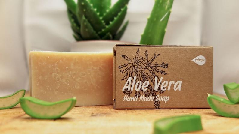 Aloe Vera Soapaloe soapvegan soapbar soapgold process image 0