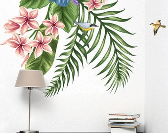 tropical home decor items items similar to romantic pink daffodil flowers with butterfly  romantic pink daffodil flowers