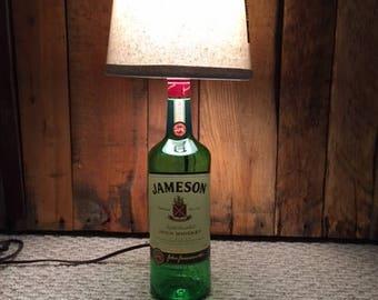 Liquor Bottle Lamp - Jameson Irish Whiskey! 1L