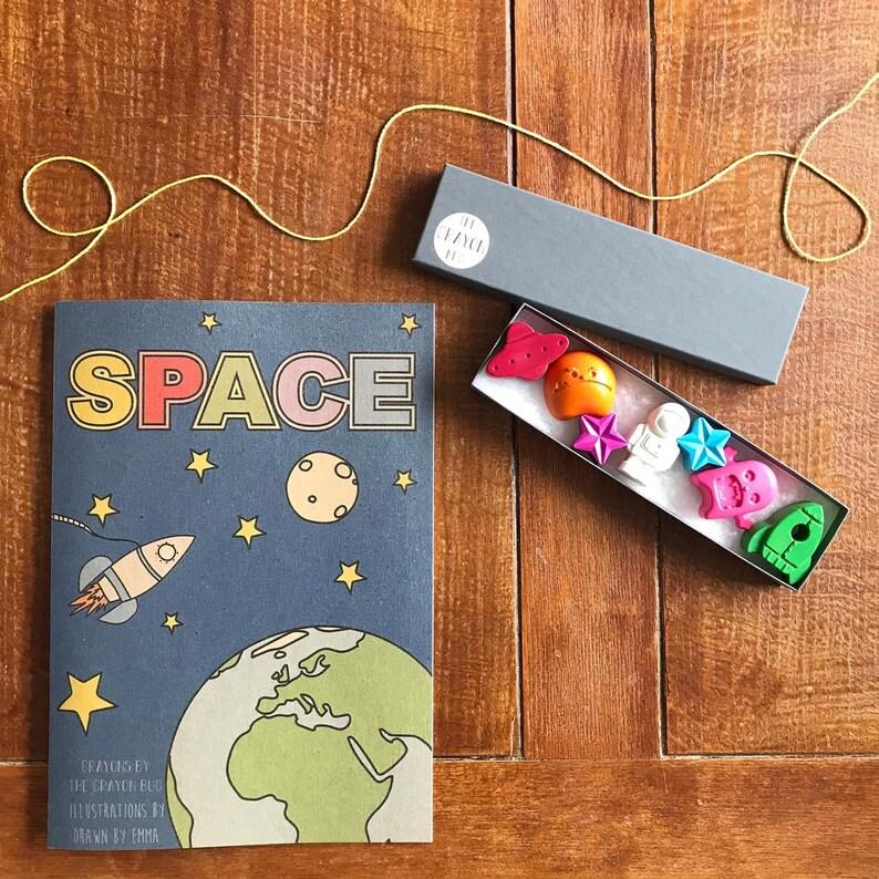 Space Colouring Book  Colouring Book  Colouring In image 1