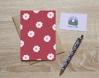 Cherry Blossom - Mother's Day Blossom - Happy Mother's Day - Mother's Day Card - Greetings Card - Blank