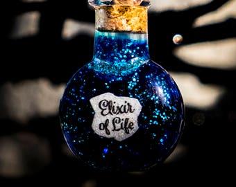 Potion Bottle Necklace - Elixir of Life