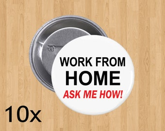 Work from home Button!