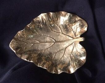 Virginia Metalcrafters Solid Brass RhubarbTray