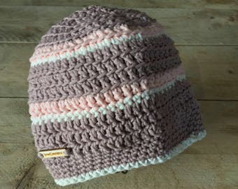 Crochet beanie/Baggy hat soft (ladies and kids)