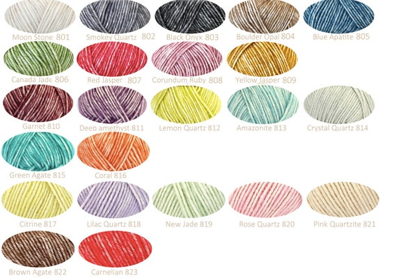 Scheepjes Stonewashed Haakgaren Of Breien Mix Van Kleuren Etsy