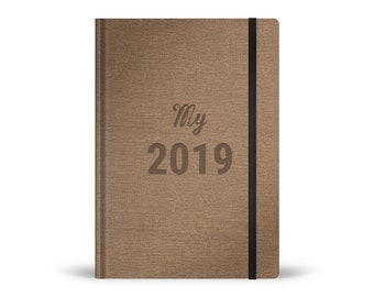 Agenda My 2019 - noisette