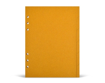 Set of 6 dividers A5