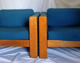 Pair of Vintage Knoll International Lounge Chairs
