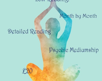 2018 year ahead month by month detailed indepth psychic mediumship reading