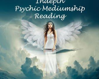 Full in depth detailed psychic mediumship spiritual angel future destiny reading