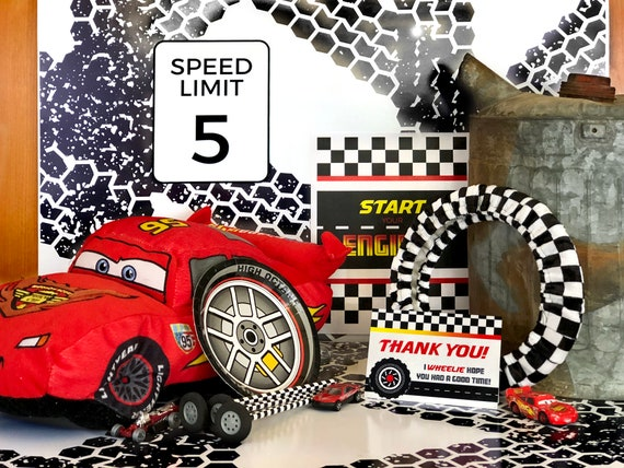Race Car Birthday Party Decorations Cars Party Nascar Party