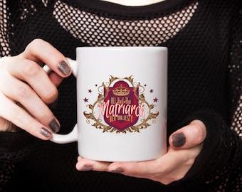 Mothers Day Coffee Mug,Matriarch Mom, Queen Mom, Mothers Day Gift, Gift under 20, cheap gift, cheap mother day gift, mothers day cup