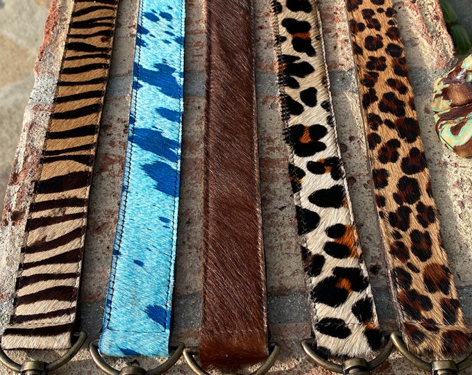 """Featured listing image: Straps -Purse - Handbags Straps handmade with exotic cowhides.48"""" length x 1.5"""" Wide adjustable…"""