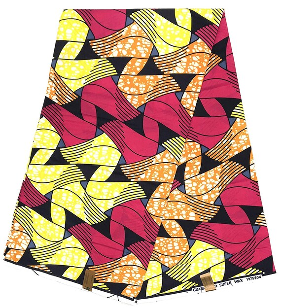 HITARGET Phoenix Wax Original African wax print fabric 6 Yards 100/% cotton fabric Collection