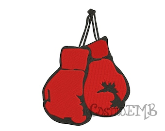 6f1884d6e3d6b5 7 Size Boxing glove Embroidery design Machine Embroidery - Digital INSTANT  DOWNLOAD