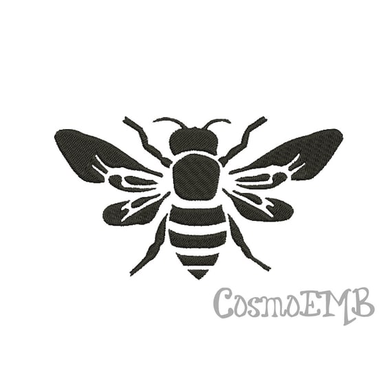 7 Size Bee Silhouette Embroidery Design Machine Embroidery Etsy Silhouette of a bee svg clip art. 7 size bee silhouette embroidery design machine embroidery digital instant download