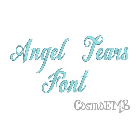Angel tears trial font download free fonts download.
