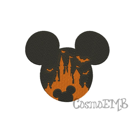 7 Size Mickey Halloween Embroidery design Machine Embroidery - Digital INSTANT DOWNLOAD