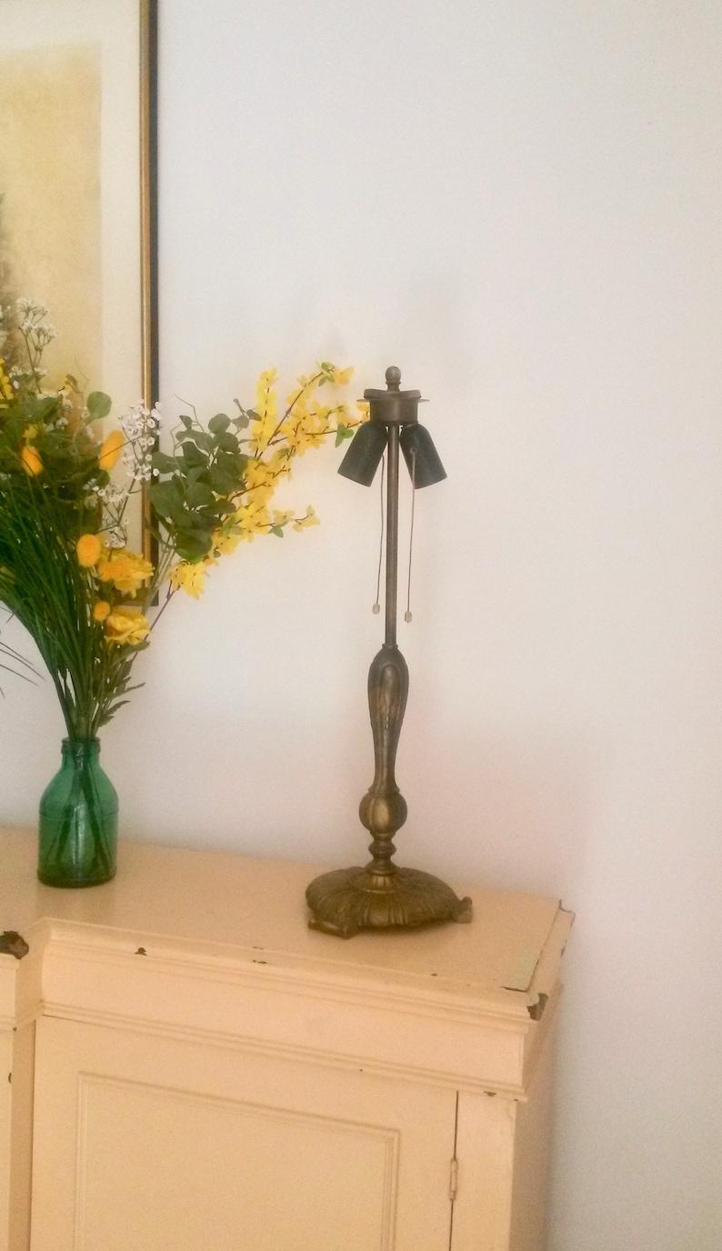 Art Decor Table Lamp Base Large Lamp ArtDeco Lighting Livingroom Light Vintage 1920s Lighting