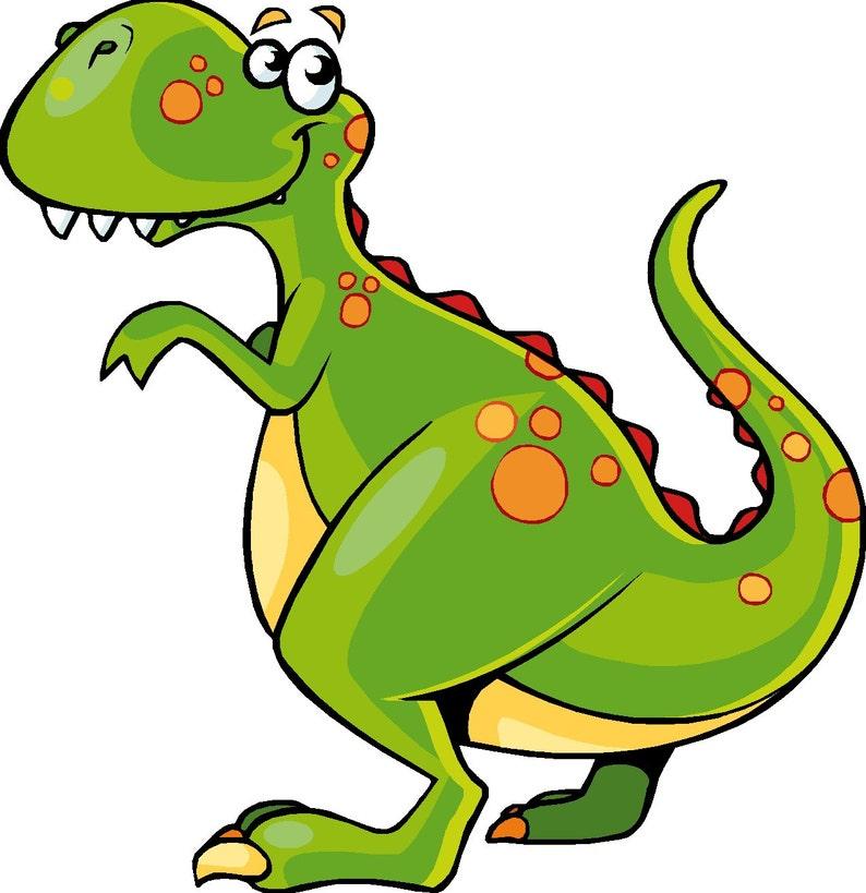 Dinosaurier Cartoon Kindergarten Childs Schlafzimmer Entfernbaren Vinyl Kunst Wandtattoo
