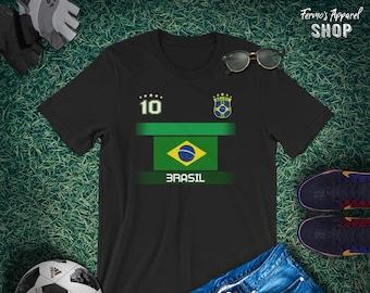 Frankreich France Mädchen T-Shirt Trikot Team Name /& NR Druck Fußball  WM 2018